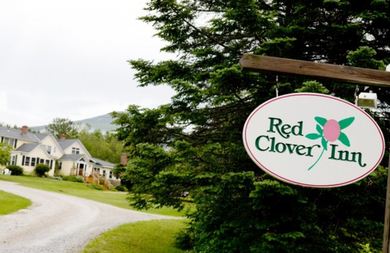 Exterior view of The Red Clover Inn & Restaurant.