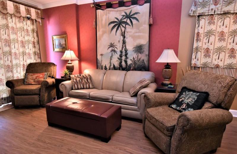 Rental living room at Bender Realty.