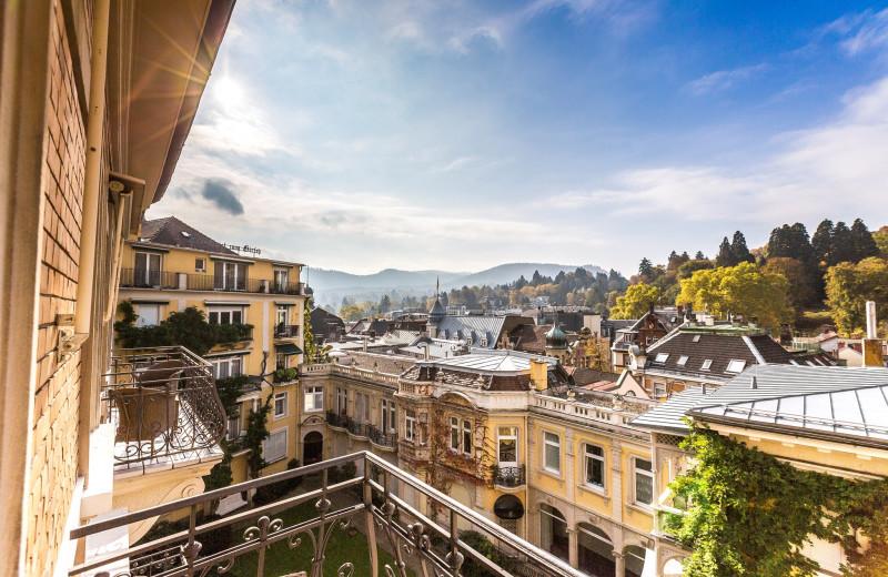 View from Bad-Hotel Zum Hirsch.