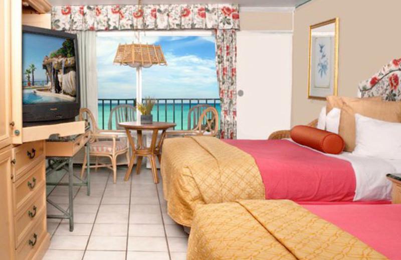 Two Queen Room at Days Inn Panama City Beach