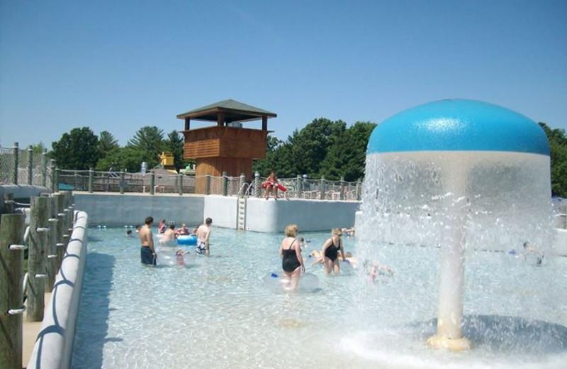 Water park at Yogi Bear's Jellystone Park Warrens.