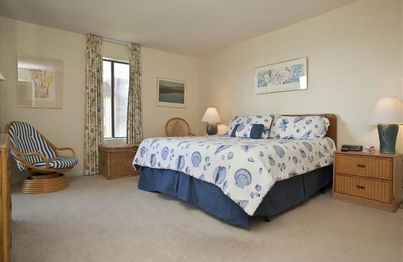Rental bedroom at Anchorage Rentals, LLC.