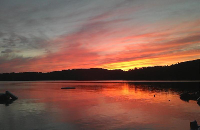 Sunrise at Lumina Resort.