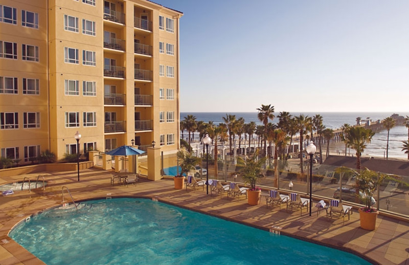 Exterior view of Wyndham Oceanside Pier Resort.