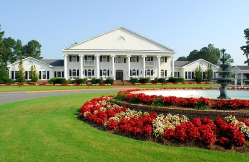 Exterior view of Brunswick Plantation Resort.