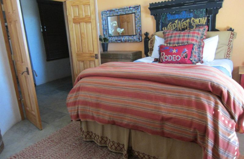 Cottage bedroom at Lajitas Golf Resort & Spa.