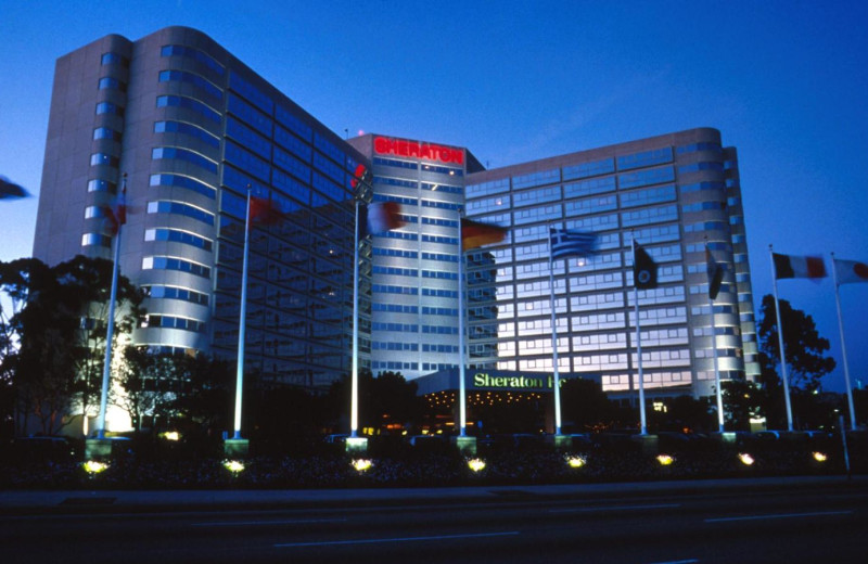 Exterior view of Sheraton Gateway Los Angeles Hotel.