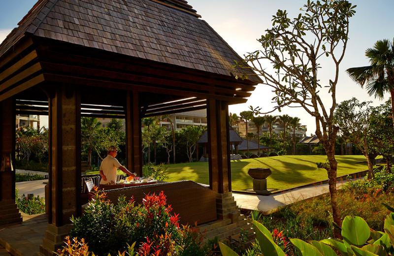 Exterior view of The Ritz-Carlton, Bali.