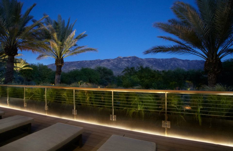 Beautiful Evening View at Miraval