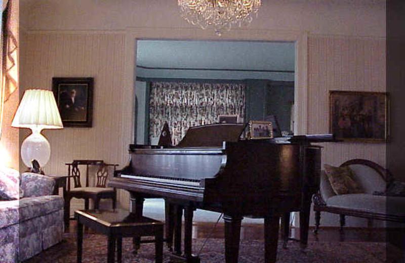 Piano at Spalding House.