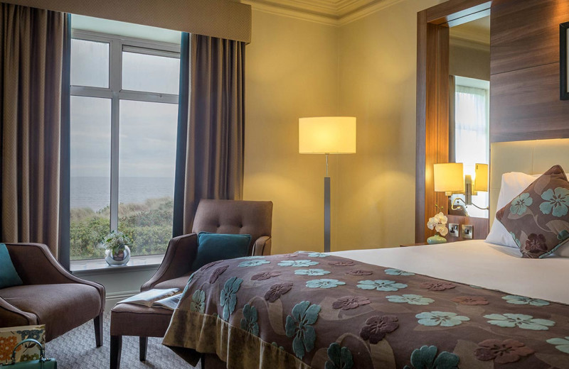 Guest room at Portmarnock Hotel and Golf Links.