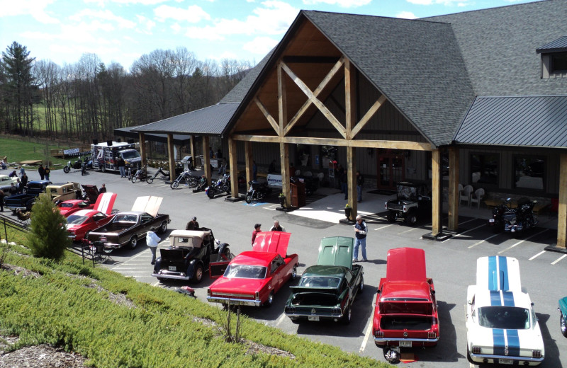 Car and Bike Show at Copperhead Lodge.