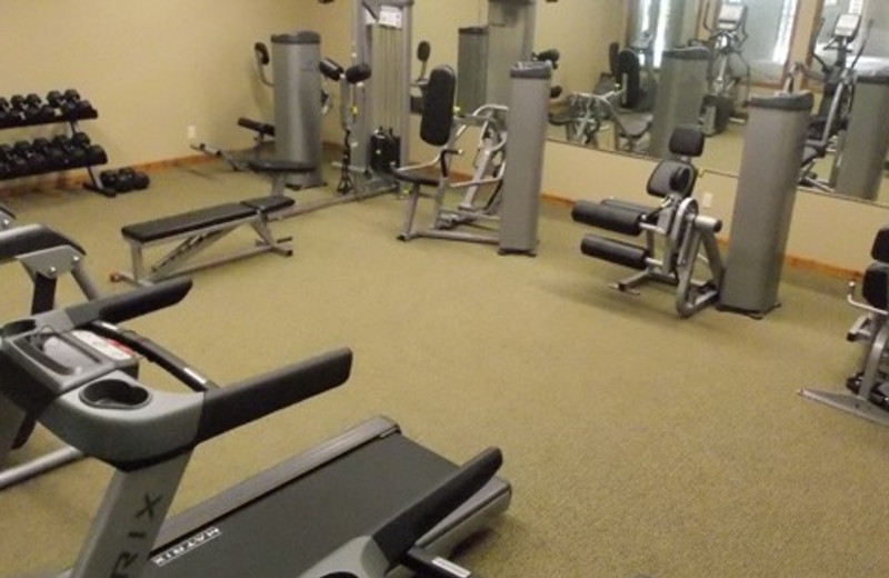 Fitness room at Wilderness Resort Villas.