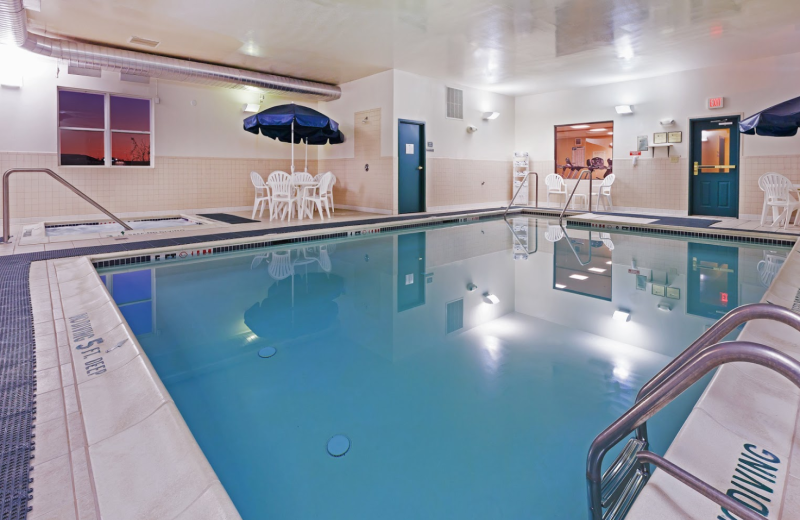 Indoor swimming pool at Country Inn & Suites Chambersburg.