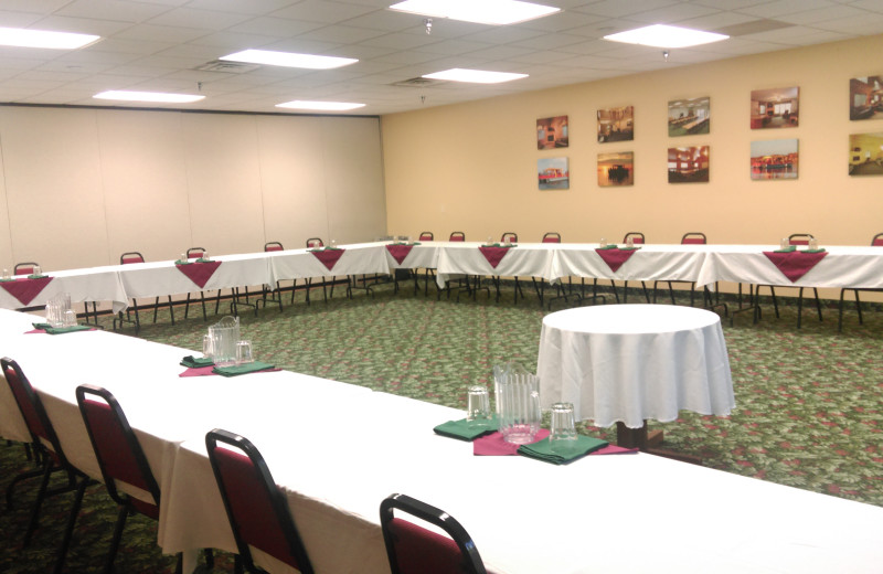 Meetings at McQuoid's Inn & Event Center.