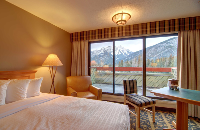 Guest room at Inns of Banff.
