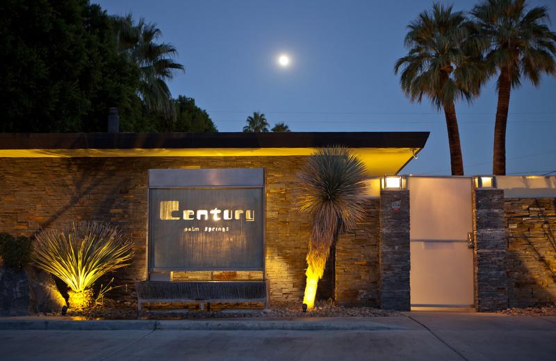 Exterior view of Century Palm Springs.