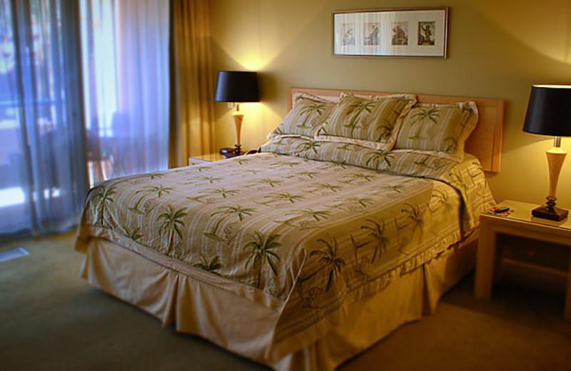 Guest room at Marquis Villas Resort.