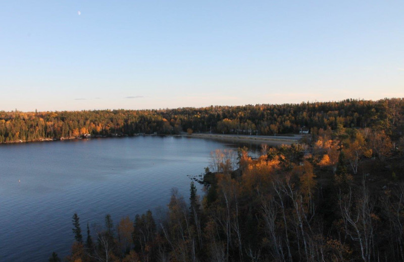 Scenic view at Tallpine Lodges.