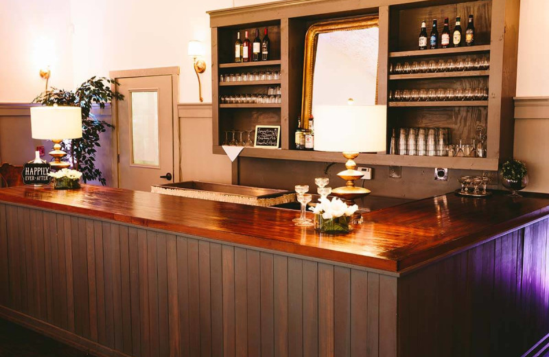 Bar at Landoll's Mohican Castle.