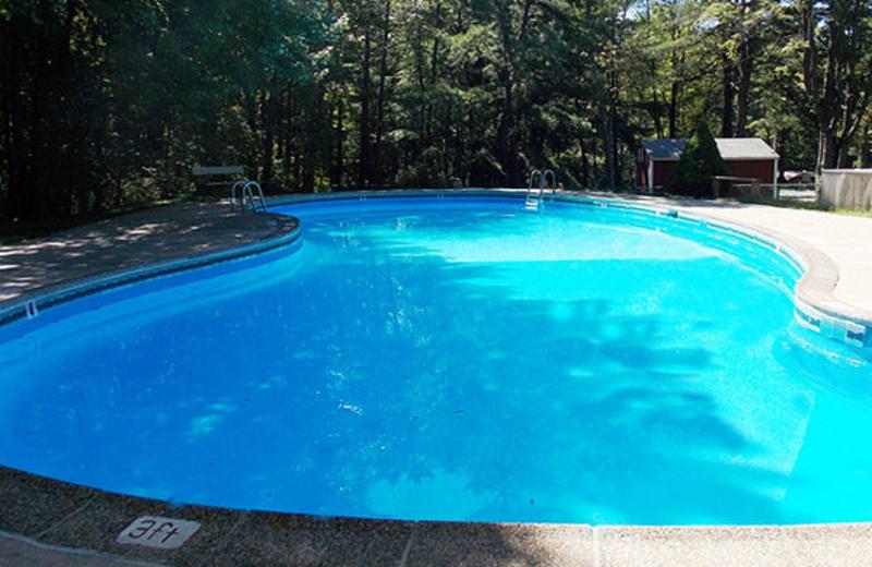 Outdoor Pool at Jim Thorpe Camping Resort