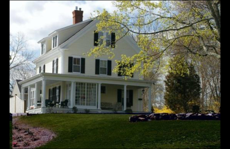 Exterior view of Bayberry Inn Bed & Breakfast.
