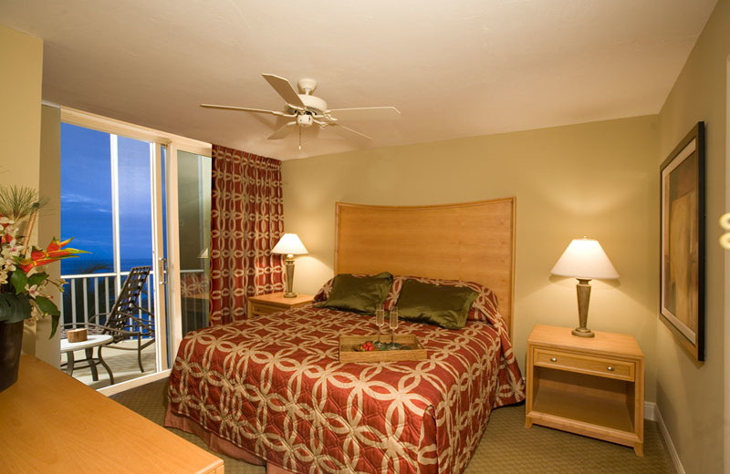 Guest Room at DiamondHead Beach Resort