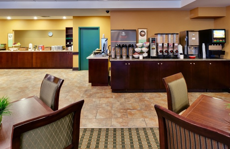 Breakfast Room at the Country Inn & Suites