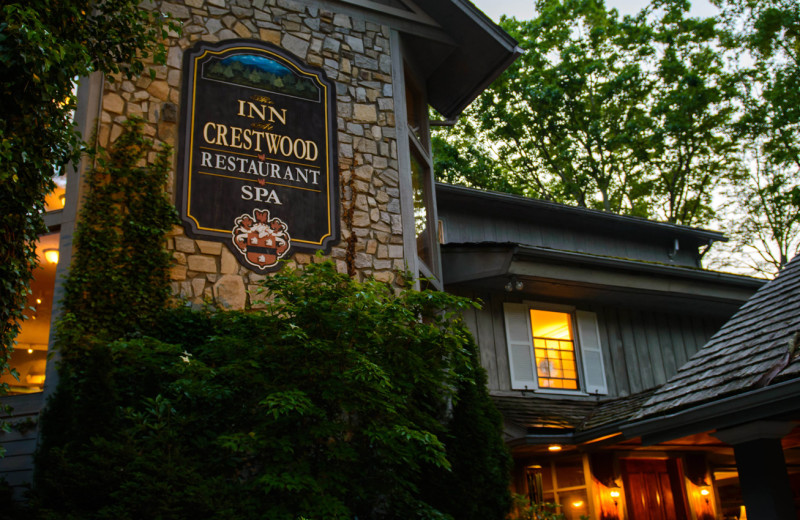 Exterior view of The Inn at Crestwood.