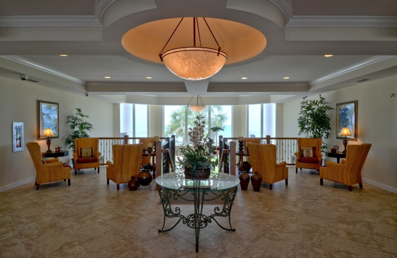 Lobby at Silver Beach Towers.