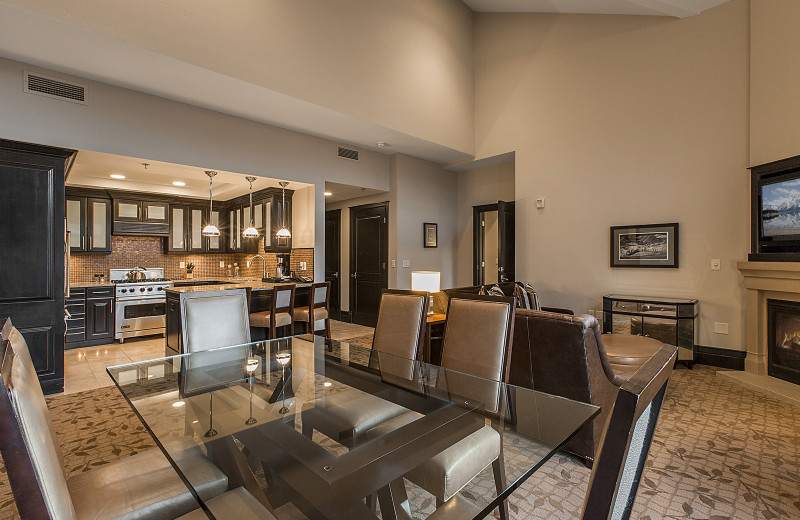 Rental kitchen at Padzu Vacation Homes - Park City