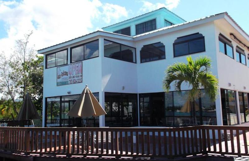 Exterior view of Manatee Eco Resort.