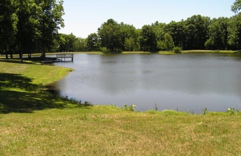 Beautiful Lake at Wolff's Maple Breeze Resort
