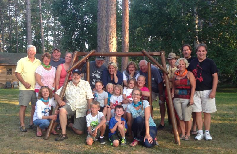 Family at Timber Bay Lodge & Houseboats.