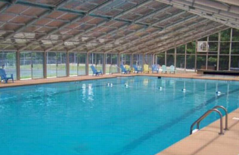 Rental Pool Area at Mountain Memories Cabin Rentals