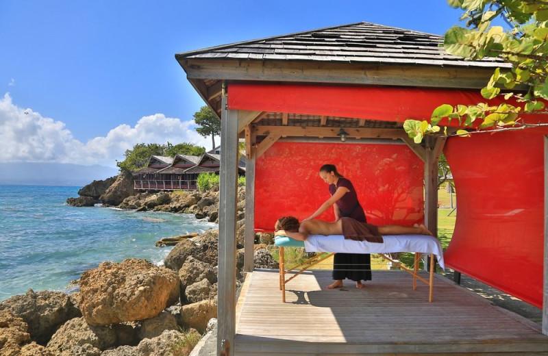 Massage at La Creole Beach Hotel & Spa.