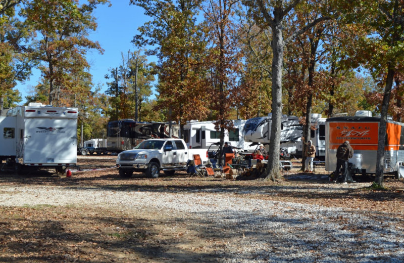 Campground at Mulberry Mountain Lodging & Events.