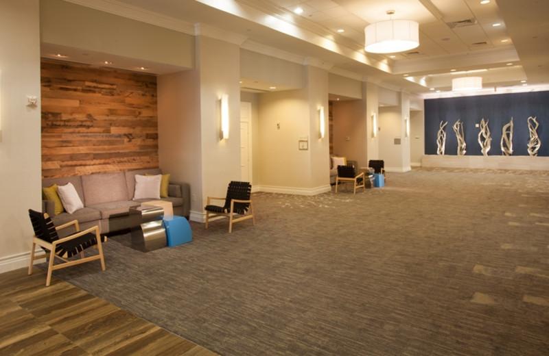 Hallway at Crowne Plaza Melbourne Oceanfront Resort.