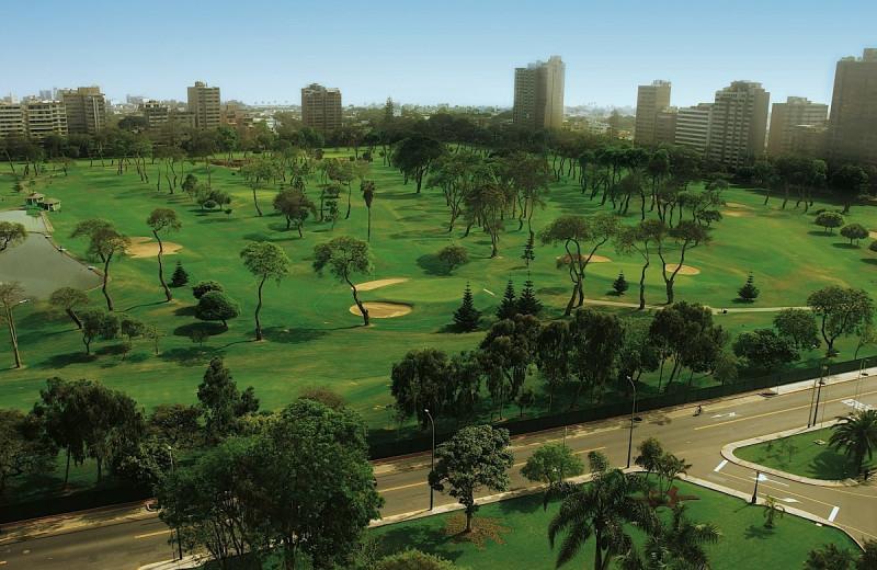 Golf course at Hotel Los Delfines.