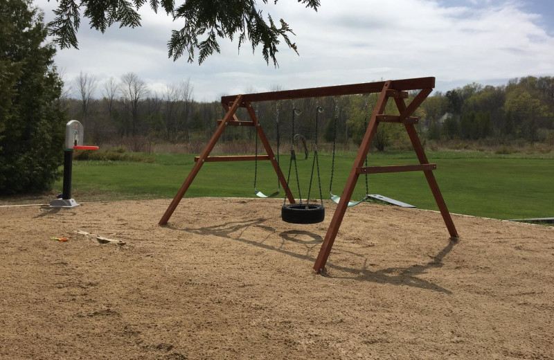 Playground at Open Hearth Lodge.