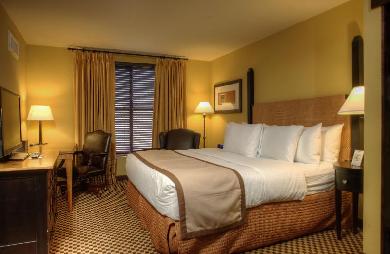 Guest room at Bear Creek Mountain Resort.