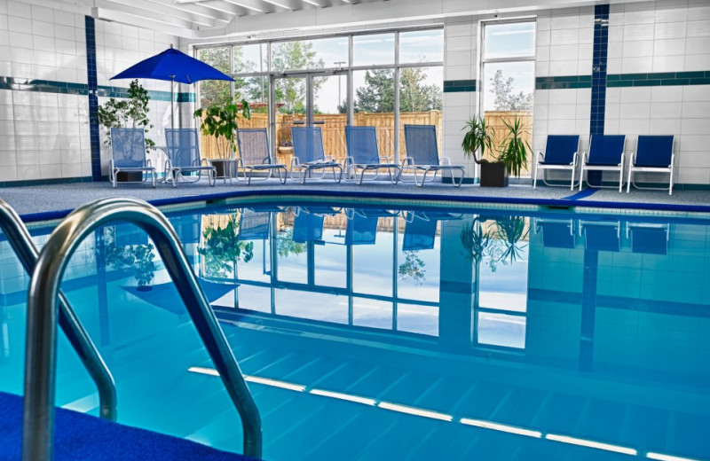 Indoor Pool at Four Points by Sheraton London