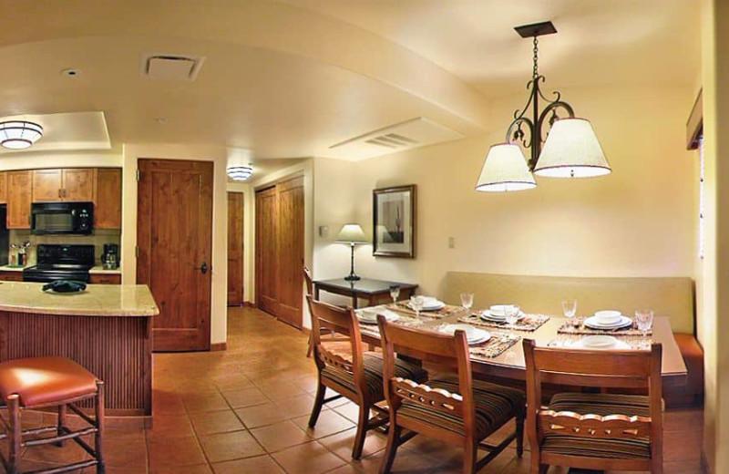 Guest kitchen at Hyatt-Pinion Point Resort.