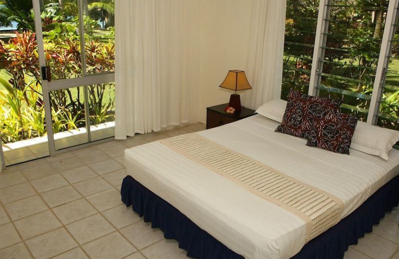 Guest room at Naigani Island Resort.