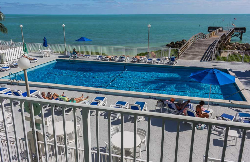 Rental pool at Florida Keys Vacation Rentals.