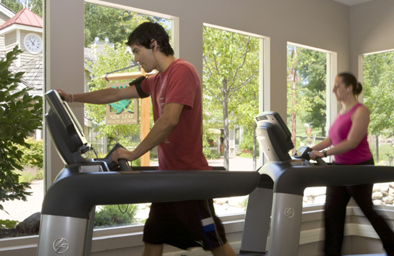Fitness room at The Homestead.