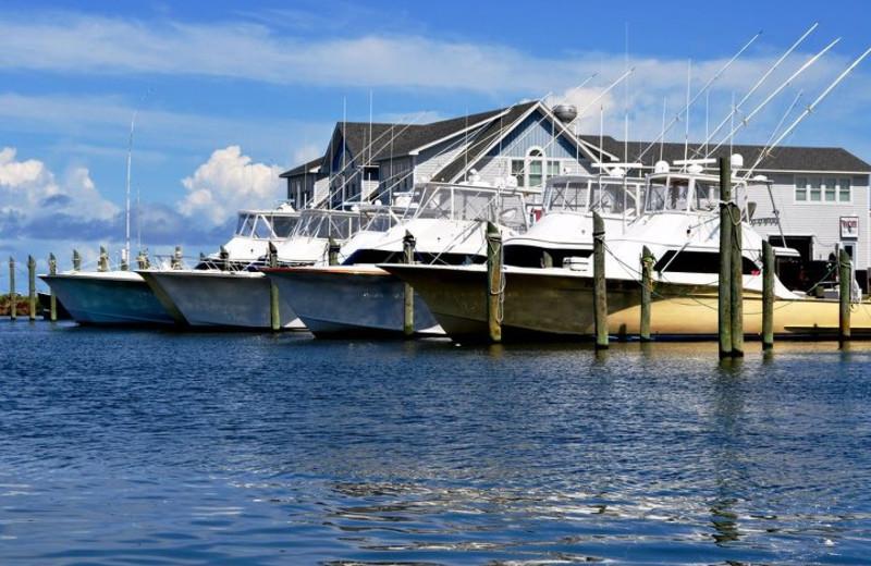 Boats at Hatteras Realty