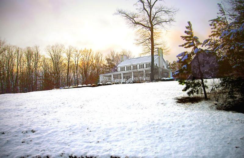 Winter time at Dahlonega Spa Resort.