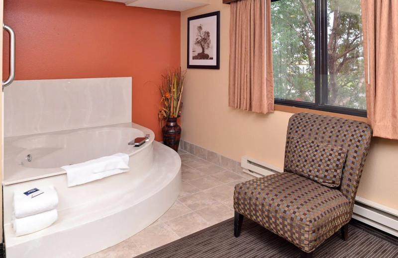 Guest hot tub at AmericInn by Wyndham - Fergus Falls.