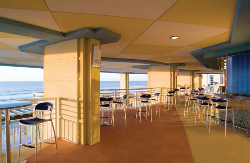 Cafe view at Wyndham Ocean Boulevard.
